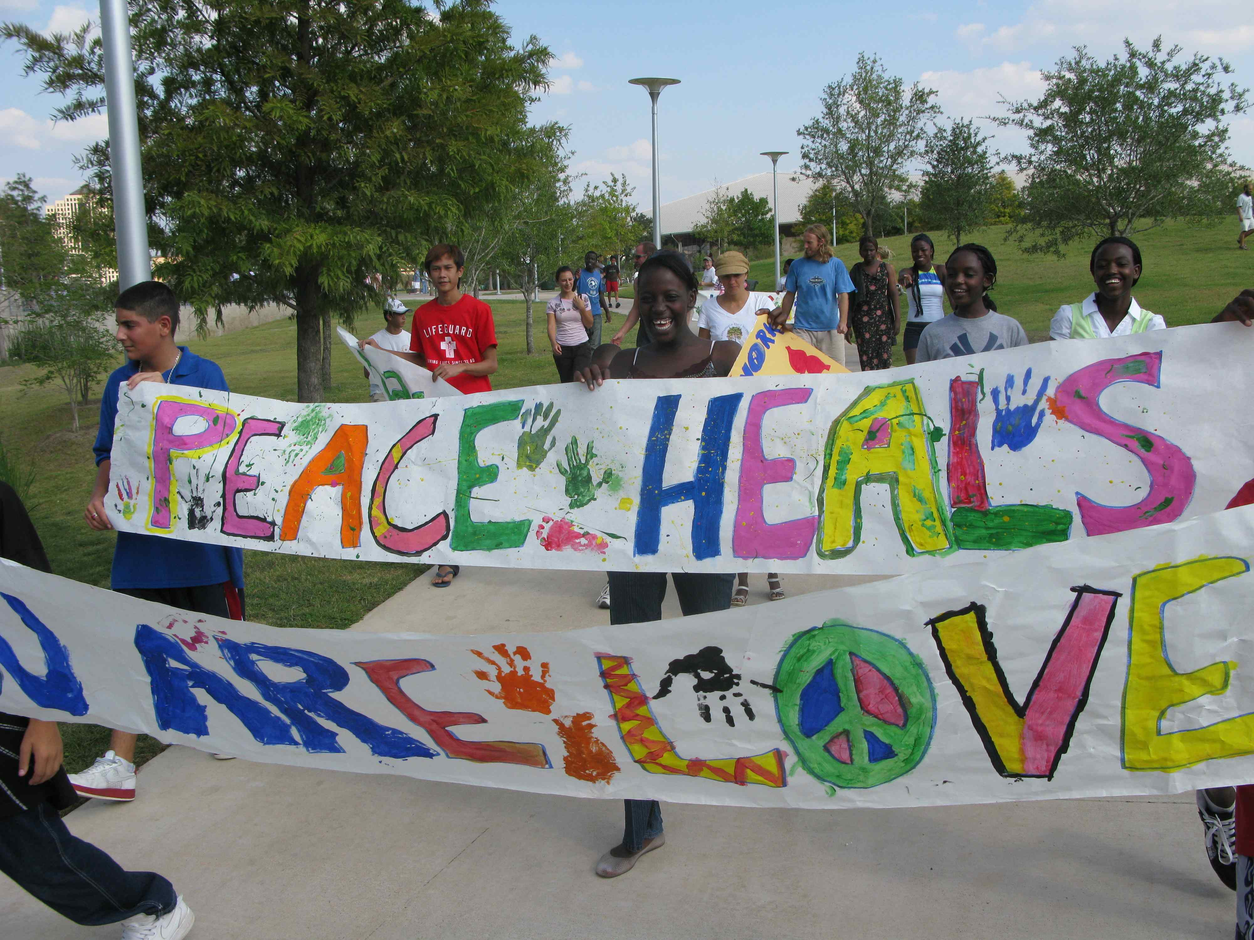 Austin March for Peace - One Village March For PeaceMarch For Peace